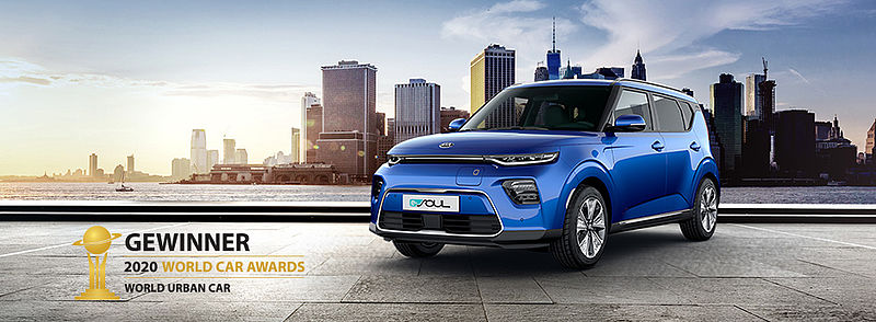 Kia e-Soul: Gewinner des World Car Awards 2020