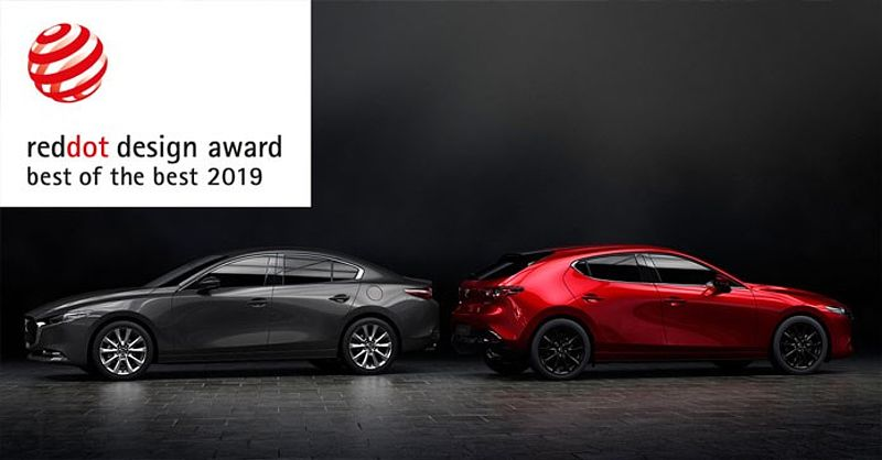 "Der neue Mazda3 gewinnt den ""Red Dot: Best of the Best"""